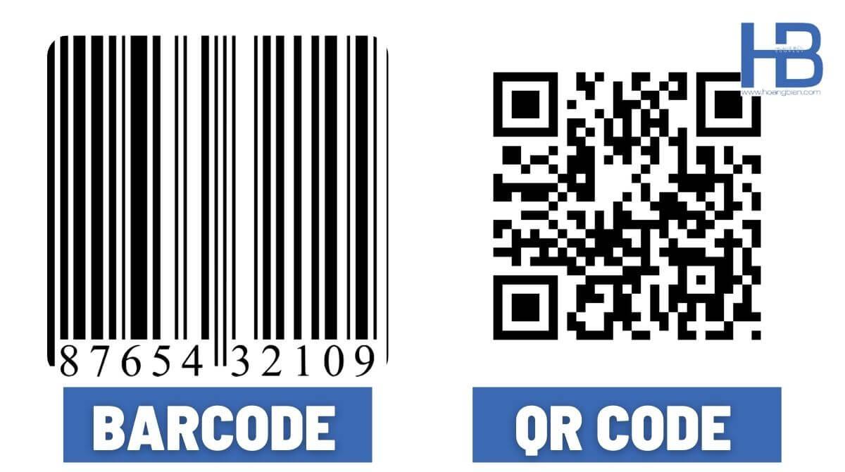 Phân biện barcode và QRcode