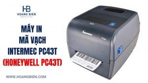 máy in mã vạch PC43T Honeywell